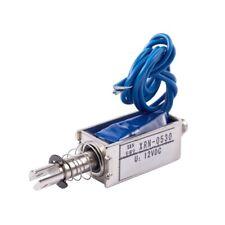 5X(Electronico iman solenoide Tipo electrico Empujar / tirar 10mm DC 12V 2, R5Q1