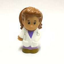 Rare Fisher-Price Little People Doctor Figure Boy Girl Toy Doll