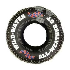 PRINTED TIRE TUBE Tough Mudder Swim Ring Vinyl Lazy River Summer Fun Lake 9021