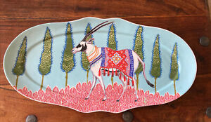 New Anthropologie Eastern Animal Platter by Paige Gemmel