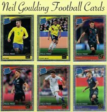 DONRUSS SOCCER 2018-2019 ☆ RATED ROOKIE - PRESS PROOF SILVER PARALLEL ☆ Cards
