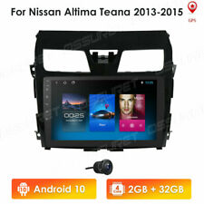 """10.1"""" Car GPS Stereo Radio 4-Core Android10 MP5 Player For Nissan Altima +Camera"""