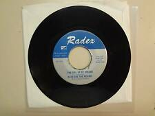 """DAVE AND THE SQUIRES: Girl Of My Dreams-Ferry Cross The Merscy-U.S. 7"""" 65 Radex"""