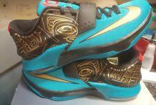 2014 Nike KEVIN DURANT KD VII 7 N7 x 10 blue 705135-486 size 10.5 jordan 1