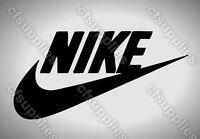 A5/A4/A3 Nike Logo, Mylar Stencil,125/190 micron, Reusable Mylar