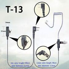 2-Pin Ptt Earpiece for Icom Ic-F4000 F4001 F4002 F4003 F4011 Radio