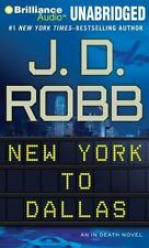 In Death: New York to Dallas 33 by J. D. Robb (2014, MP3 CD, Unabridged)