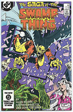 SWAMP THING #27 Aug 1984 DEMON App NM+ 9.6 W JUSTICE LEAGUE DARK MOORE BISSETTE