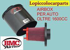 Kit Filtro Aria SPORTIVO UNIVERSALE AirBox Carbonio Aspirazione Diretta OTA BMC