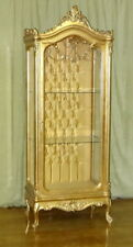 GLASS CASE BAROQUE STYLE GOLD GLASS CASE # AS250