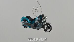 Harley Davidson Fat Boy Motorcycle Custom Christmas Ornament Sportster V-Rod