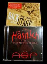 ASP Hässlich - CD + THOMAS SABOTTKA Backstage - 2CD Digipak - OVP / Sealed