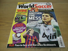 FOOTBALL MAGAZINE World Soccer May 2010 MONDE COUPE Guide Team-by-Team Arbitres