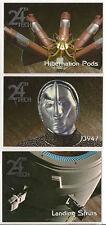 Star Trek Voyager Season 2 Trading Cards 24th Century Technology Set 194-196