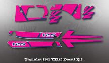 YAMAHA 1991 YZ125 DECAL KIT LIKE NOS OEM