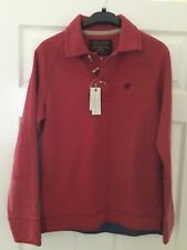 Fat Face Men's/Boys Long Sleeved Red Sweatshirt Size XSmall New With Tags