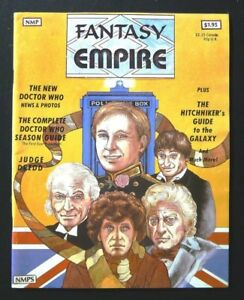 Fantasy Empire #1 July 1981 VG Special Dr Who Section, Judge Dredd
