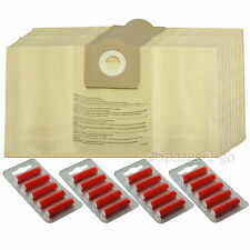 20 x ARGOS Proaction Vacuum Cleaner Dust Bags Canister Hoover 30 Litre VM1220P .