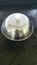 2 x Stainless cheese burger cloche melt catering trl LPG griddle