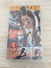 Shaquille O'Neal Larger Than Life Vintage NBA VHS Tape Brand New!