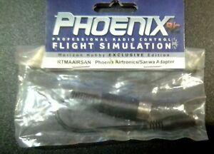 PHOENIX R/C, Airtronics/Sanwa Flight Simulation Adapter RTMAAIRSAN.    Brand New