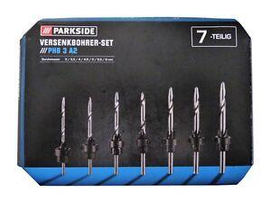 Versenkbohrer Versenker Set Versenk Bohrer 3/3,5/4/4,5/5/5,5/6 mm Holzbohrer SET