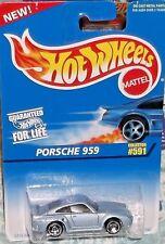 1996 Hot Wheels #591 Light Blue Porsche 959 Diecast 4+ Malaysia Boys & Girls