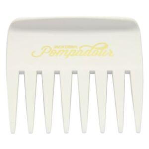 Denman Jack Dean White Pompadous Streaker Comb