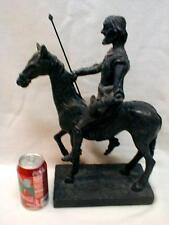"""Austin Productions Sculpture Beautiful Large 15"""" Horse & Rider Statue NICE HEAVY"""