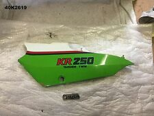 KAWASAKI  KR 250  1985  LH SIDE COVER  GENUINE OEM  LOT40  40K2619