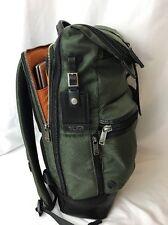 Tumi 222388 Alpha Bravo Luke Roll Top Backpack Laptop Bag Carry-on Spruce Duffel