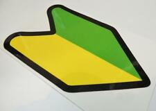 JDM Wakaba Leaf Learner Stickers Decals nouveau conducteur Japan Drift