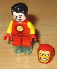 Lego Marvel Super Heroes Figur - Iron Man mit kurz Bein
