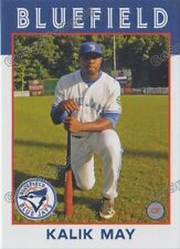 2016 Bluefield Blue Jays Kalik May RC Rookie Toronto