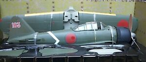 """ULTIMATE SOLDIER JAPANESE ZERO TYPE 22 FIGHTER PLANE """"RED 183"""" 1:32 MIB"""