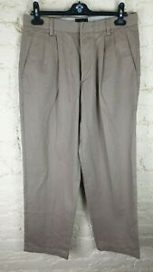 DOCKERS D4 Relaxed Fit Men's Trousers Size: W 32 L 32 VERY GOOD Condition