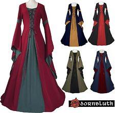 Abito Veste Medioevale Johanna Su Misura Scelta Colore Abito Medievale Costume