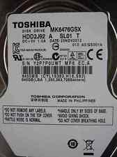 640 GB Toshiba mk6476gsx | 25nov2012 | hdd2j92 a sl01 T | gs001a DISCOTECA RIGIDO