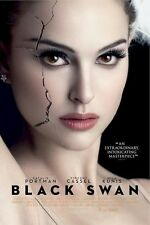 BLACK SWAN ~ CRACKED FACE ~ 24x36 ONE SHEET MOVIE POSTER ~ Natalie Portman