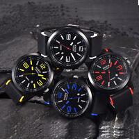 Luxury Mens Watches Stainless Steel Quartz Analog Sports Date Wrist Watch LOT