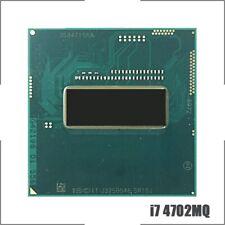 Intel Core i7-4702MQ i7 4702MQ SR15J 2.2 GHz Quad-Core Eight-Thread CPU 6M 37W