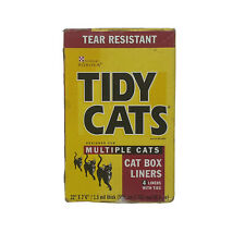 Purina Tidy Cats Litter Box Liners Multiple Cats Tear Resistant New
