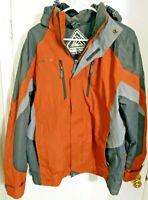 Men's  ZeroXPosur Snowboarding Hooded Jacket Size Medium Nice Condition