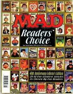 Mad Magazine, Super Special, #126 Readers' Choice Jan. 1998 ~ Good