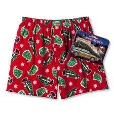 Mens National Lampoons Christmas Vacation Boxers Sleep Shorts Tin Small (28-30)