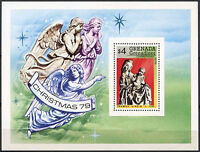 Grenadines Of Grenada 1979 SG#MS344 Christmas Sculptures MNH M/S #A89239