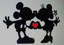 Micky and Minnie/Car/Laptop Sticker