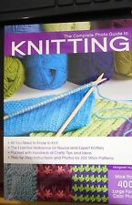 The Complete Photo Guide to Knitting : All You Need to Know to Knit - The Essent