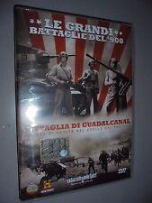 DVD N° 13 LE GRANDI BATTAGLIE DEL 900 BATTAGLIA DI GUADALCANAL DUELLO PACIFICO