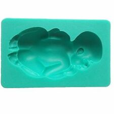 Large Sleeping Baby Silicone Mold - USA SELLER Cake Decoration Candy Soap Mold